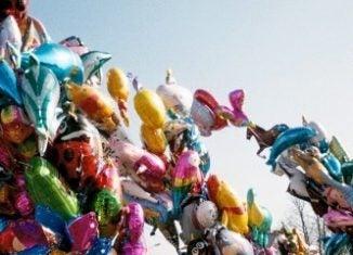 Luftballons Ostern Polen