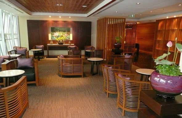 Thai Airways Business Class Spa Lounge