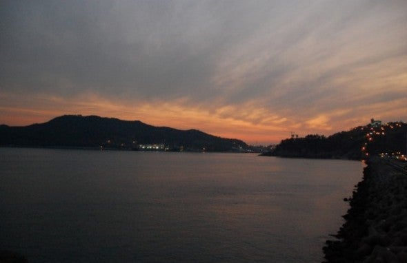Yeosu-Sonnenuntergang