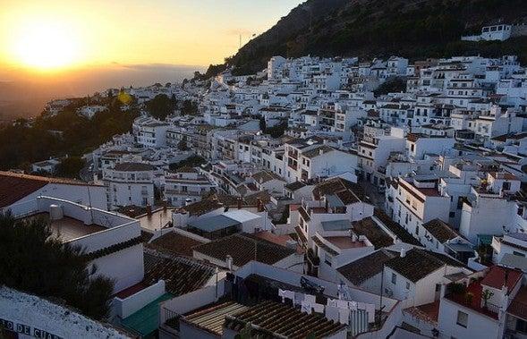 Sonnenaufgang in Mijas