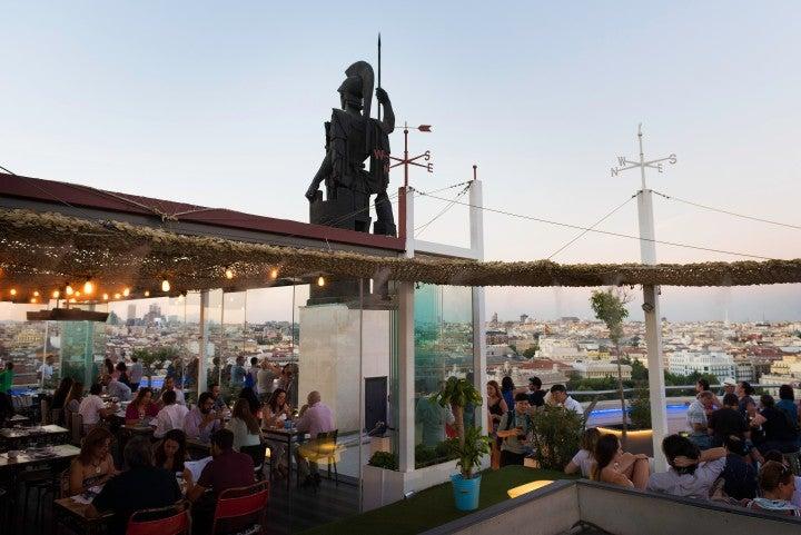 madrid von seiner romantischen seite, rooftop bar, azotea,
