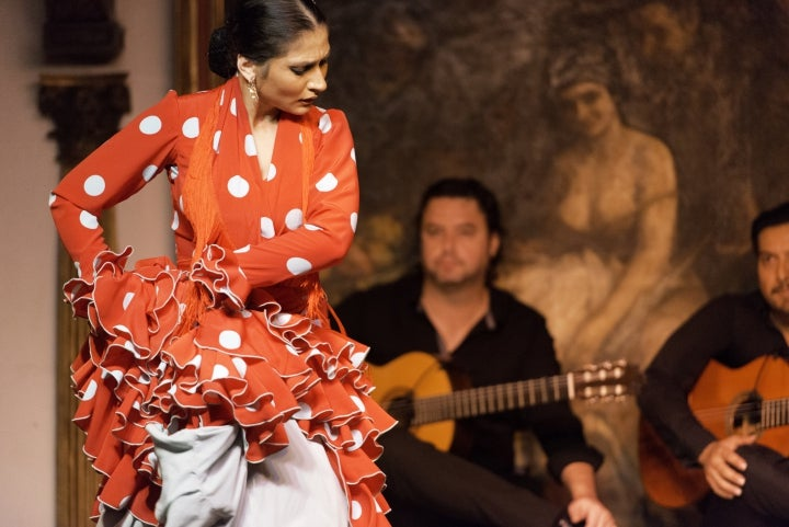 madrid von seiner romantischen seite, flamenco