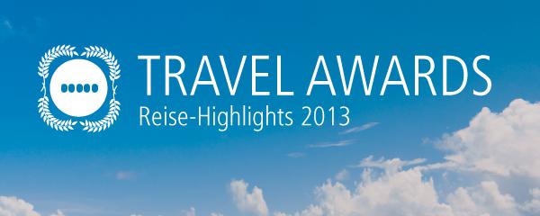 Opodo präsentiert die Travel Awards! Stimmt ab und wählt die Reise-Highlights 2013.