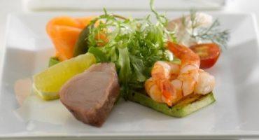 Top 5 – das beste Flugzeug-Essen