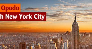 Gewinnt einen Flug nach New York City!