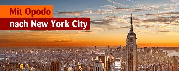 Gewinnt mit Opodo einen Flug nach New York für 2 Personen!