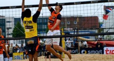 Opodo Beachvolleyball-Team: 2. Platz in Mannheim