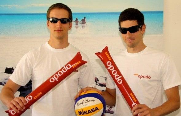 Opodo Beachvolleyball