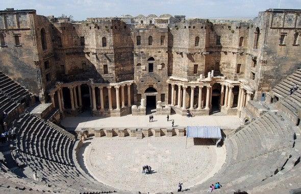 Gefährdetes UNESCO Welterbe