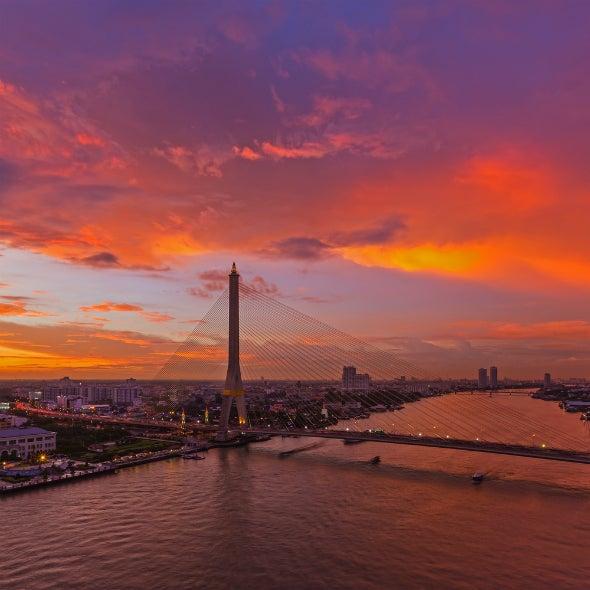 Bangkok an einem Tag