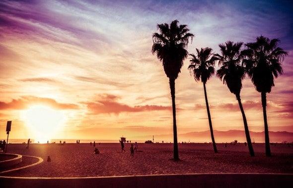 Los Angeles an einem Tag