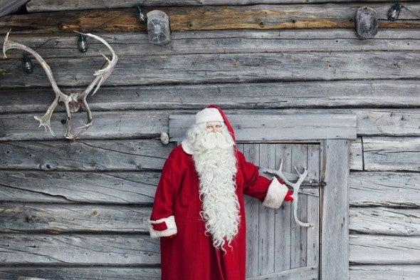 Wo wohnt der Weihnachtsmann