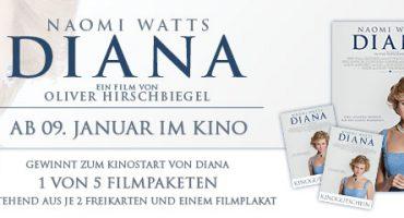 DIANA Gewinnspiel – 5 Filmpakete gewinnen!