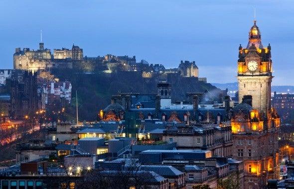 Top 10 Trenddestinationen 2014 Edinburgh