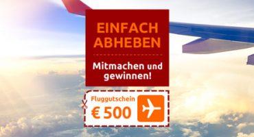Opodo Gewinnspiel: 500€ Fluggutschein