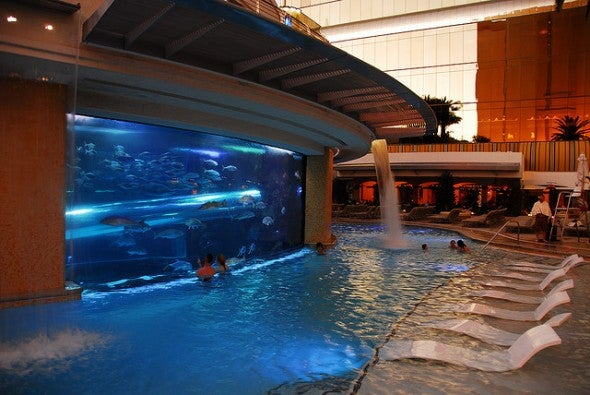 Las Vegas Hotels With Indoor Swimming Pools