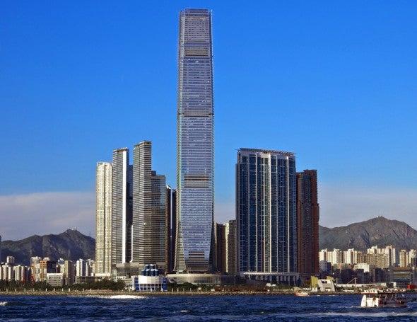 International Commerce Centre Die Chsten Geb Ude Der Welt Hong Kong Financial Center