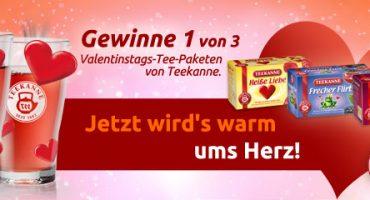 Valentinstag Gewinnspiel: Jetzt wird's warm ums Herz