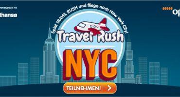 Travel Rush – Spiel mit und gewinne einen Flug nach NYC
