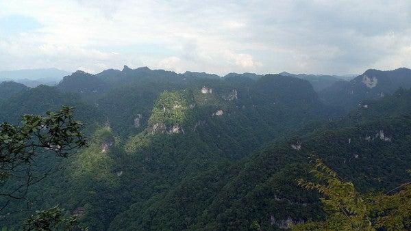 Der Berg Yuntai in der Karstlandschaft im Landkreis Shibing, Guizhou, China © fircst/flickr.com