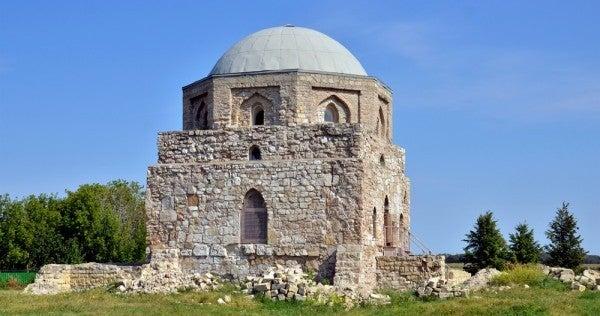 Die archäologischen Stätten von Bolgar in Russland