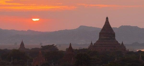 Die hier abgebildte Bagan-Königsstadt ist das wichtigste touristische Ziel in Myanmar. Als erste Welterbestätte Myanmars wurden jedoch Halin, Beikthano und Sri Ksetra in die UNESCO-Liste aufgenommen.