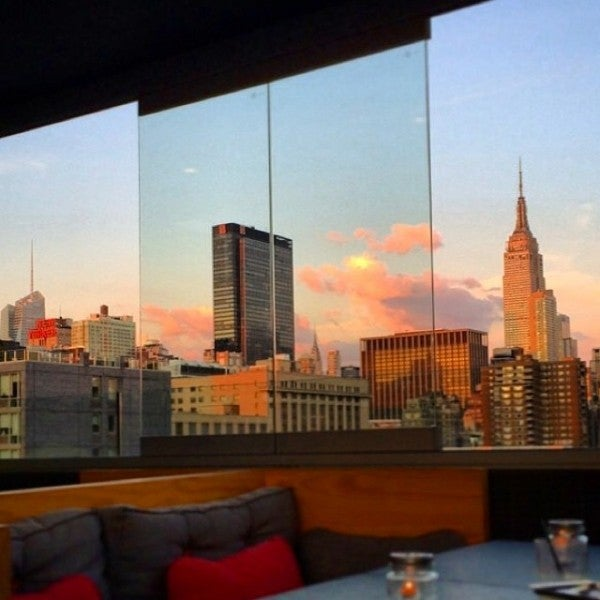 The most spectacular rooftop bars in new york city for La piscine new york restaurant