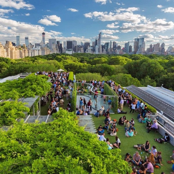 Roof Garden & Martini Bar at the Metropolitan Museum of Art