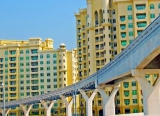 Eröffnung der Dubai Tram