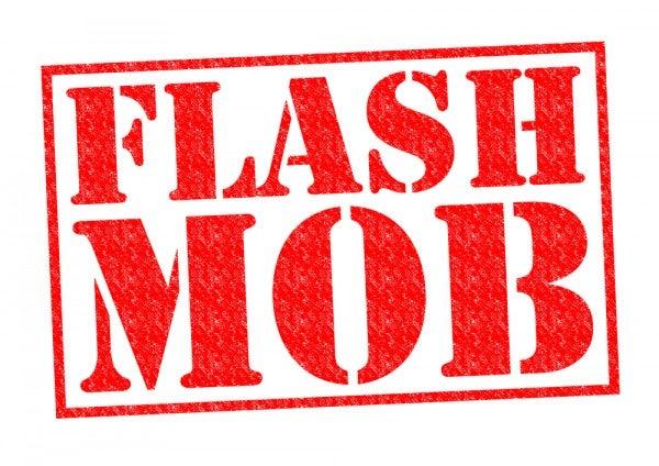 die besten flashmobs auf flughäfen