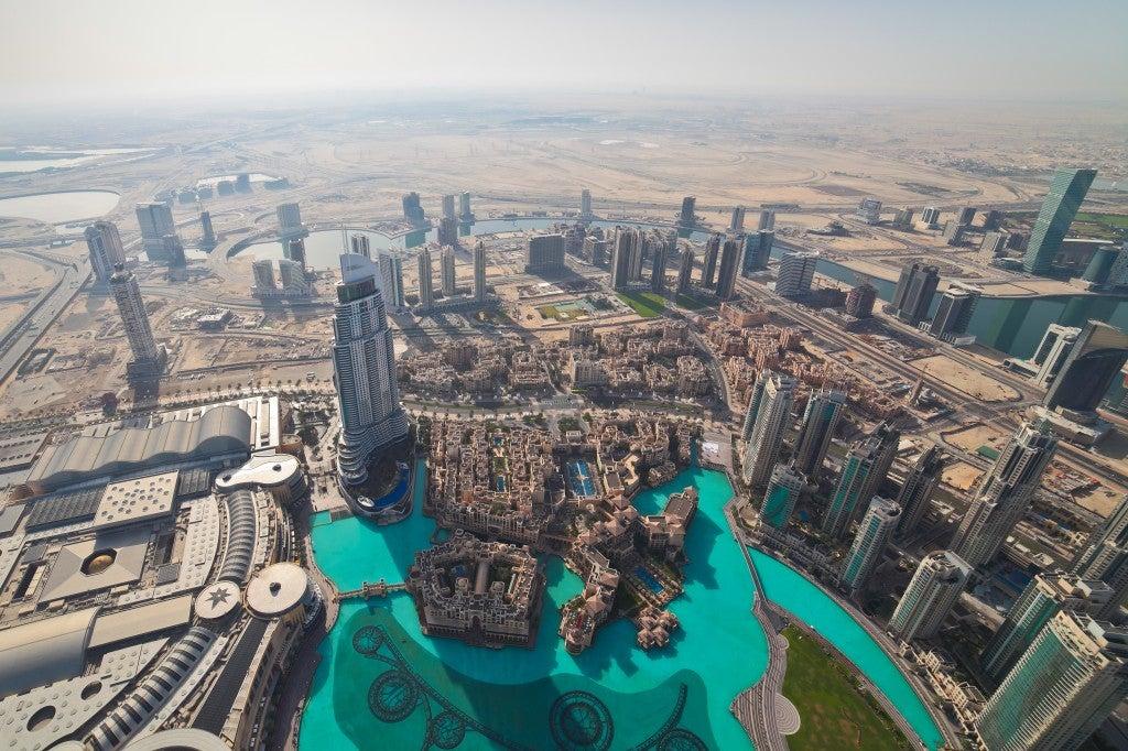 Dubai Blick Burj Khalifa