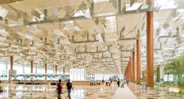 Weltbester Flughafen Singapur Changi mit spektakulären Plänen