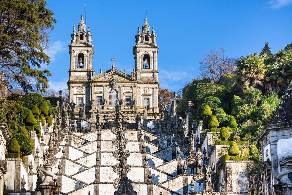 braga, osterurlaub, portugal