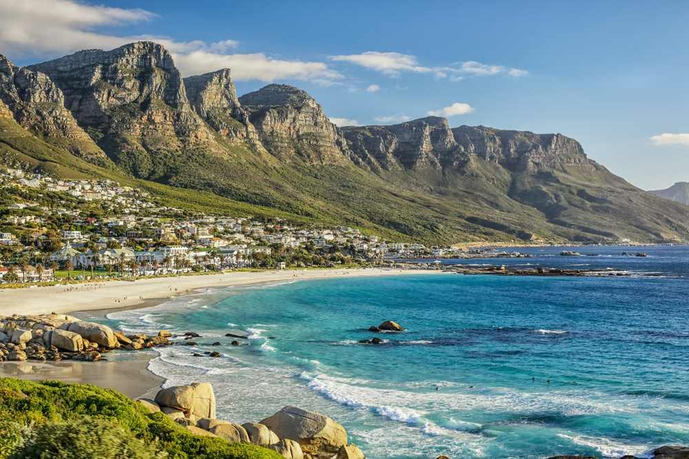 Kapstadt Städte mit Strand