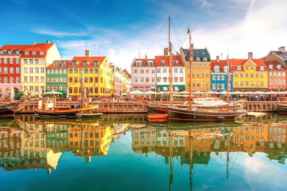 Städte mit Strand Ostsee Kopenhagen Nyhavn