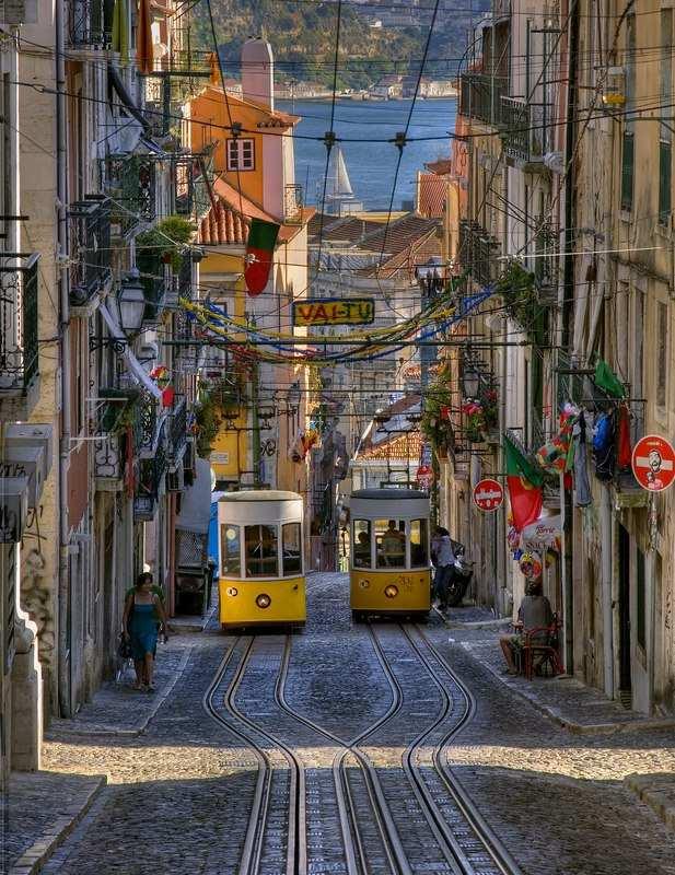 Städte mit Strand Lissabon