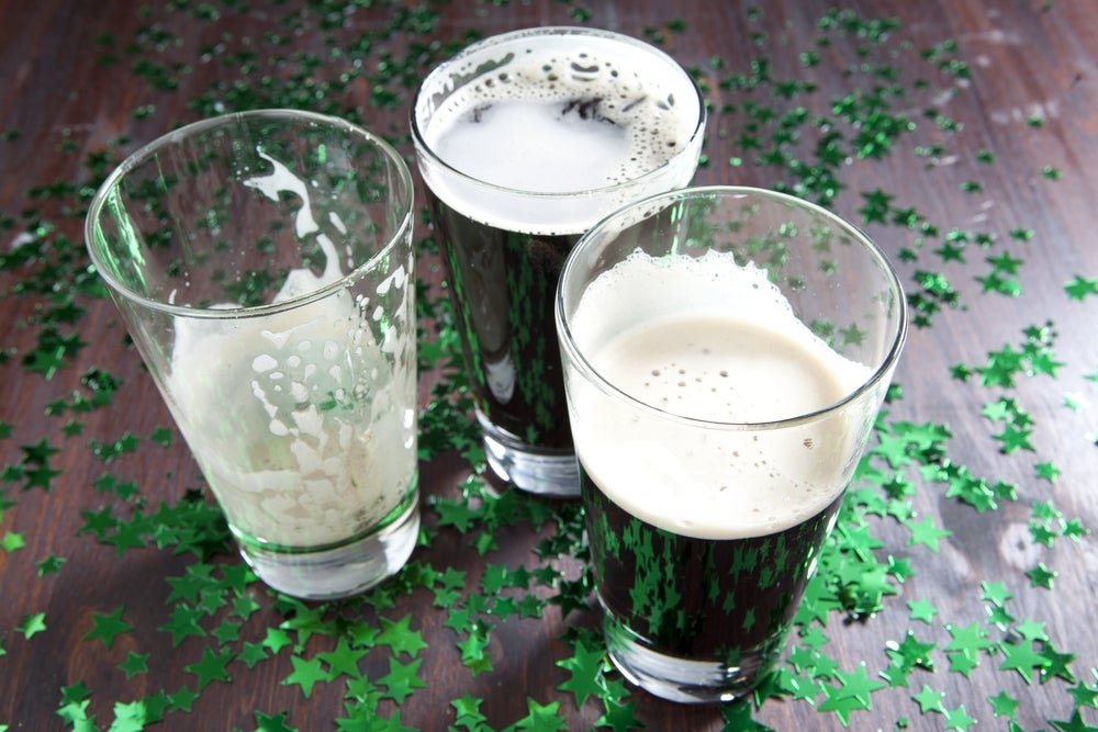 fun facts st patrick's day, guinness beer