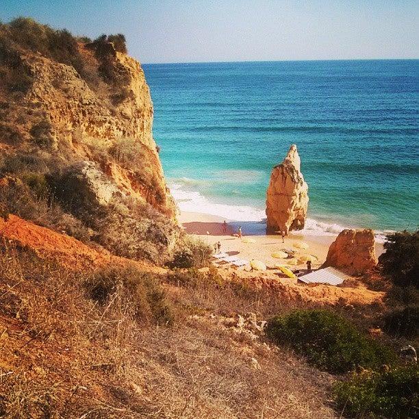 Praia da Rocha, portugal, atlantik, felsen, küste
