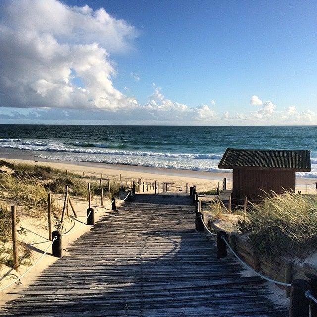Praia de Tróia, die schönsten strände portugals, küste, strand, atlantik, wellen, dünen