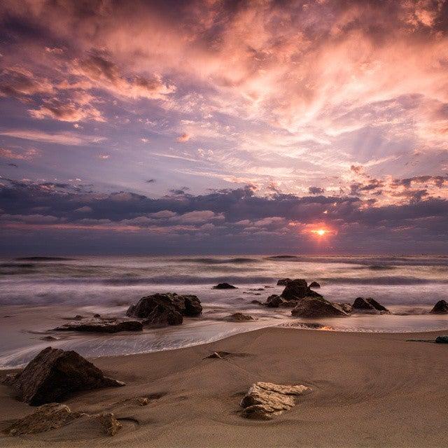 Praia da Costa Nova, die schönsten strände portugals, atlantik, küste, strand, sonnenuntergang
