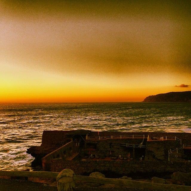 praia do guincho, portugal, strand, sonnenuntergang