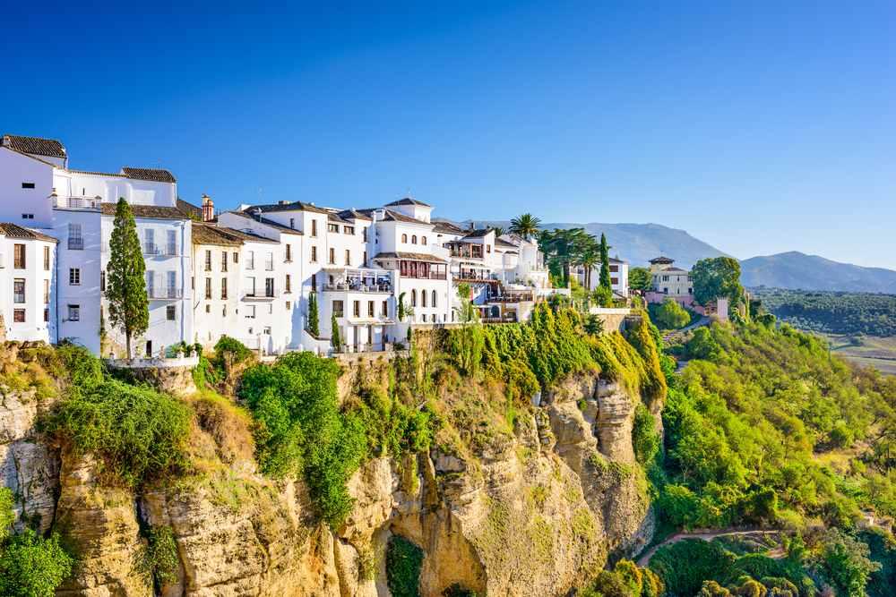 reisetipps andalusien, ronda, weißes dorf, spanien