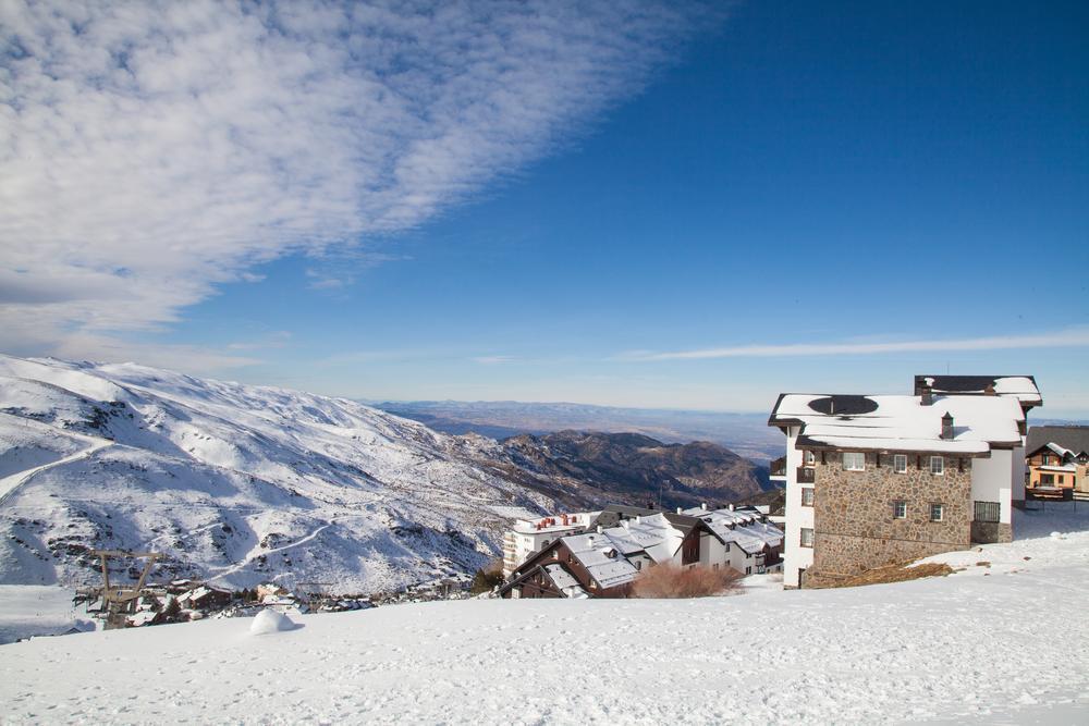 Die Sierra Nevada mit dem Berg Pico del Veleta