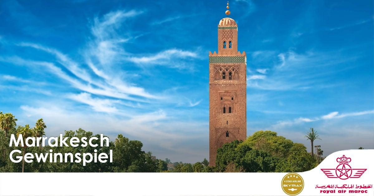 Marrakesch Gewinnspiel
