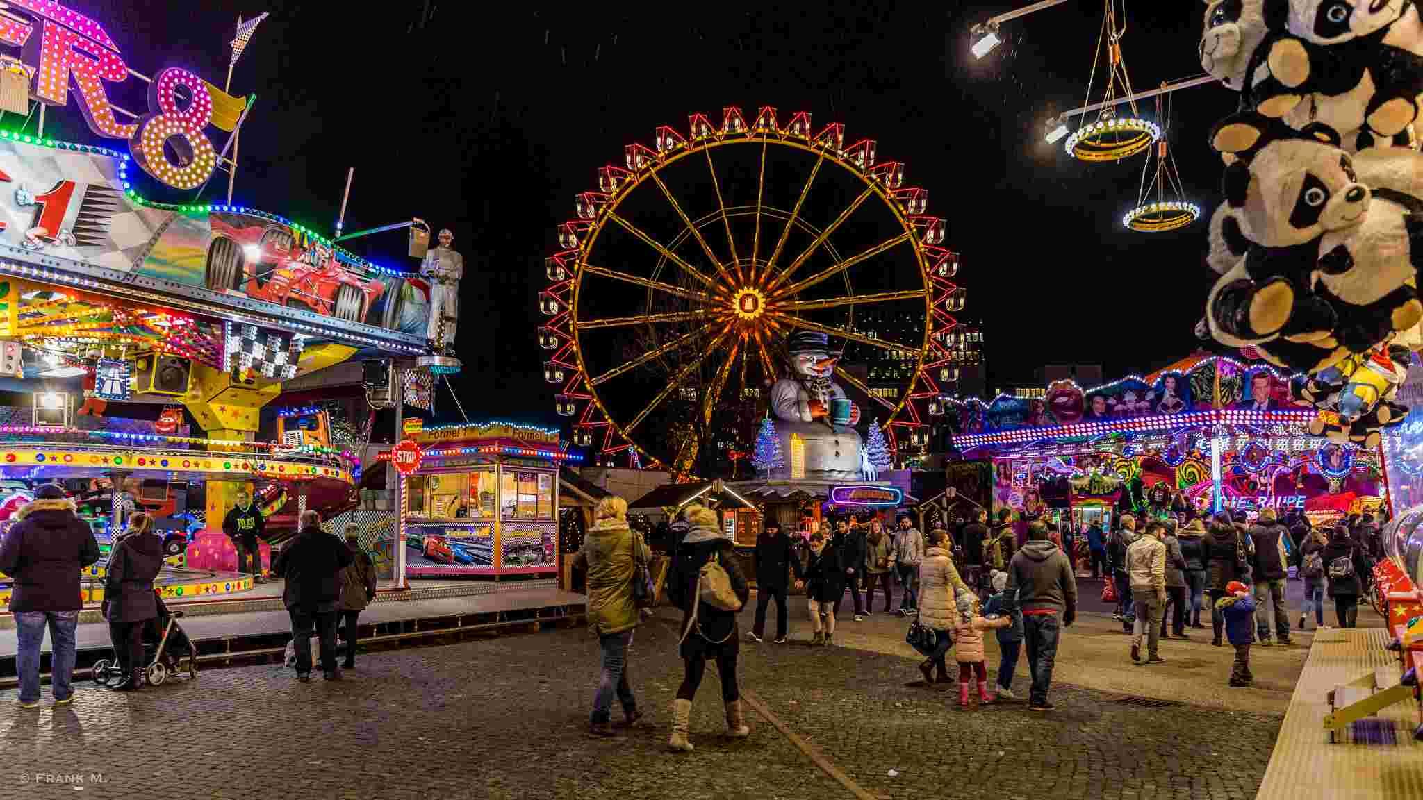 Der Hamburger Dom © Frank_M. via Flickr.com