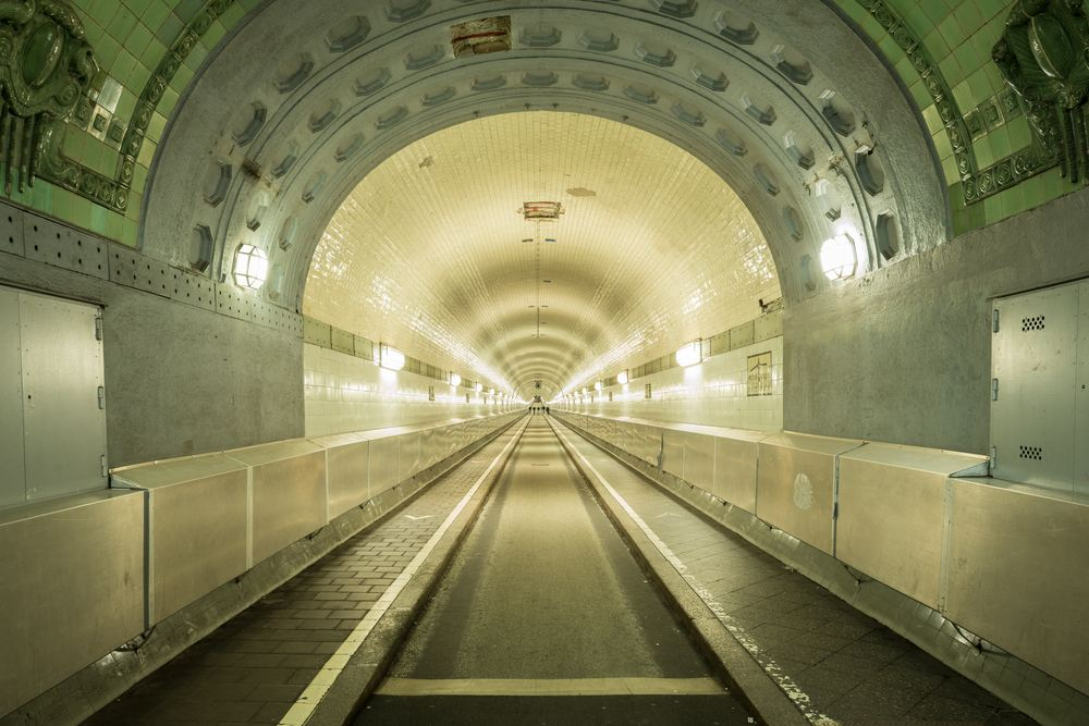was kann man in hamburg machen, alter elbtunnel