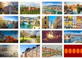 15 schöne Städte in Europa