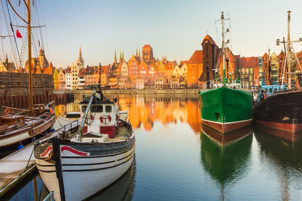Schöne-Städte-Europa-Danzig-Hafen