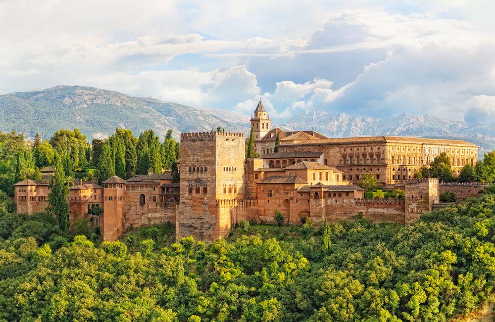 Schöne-Städte-Europa-Granada-Alhambra