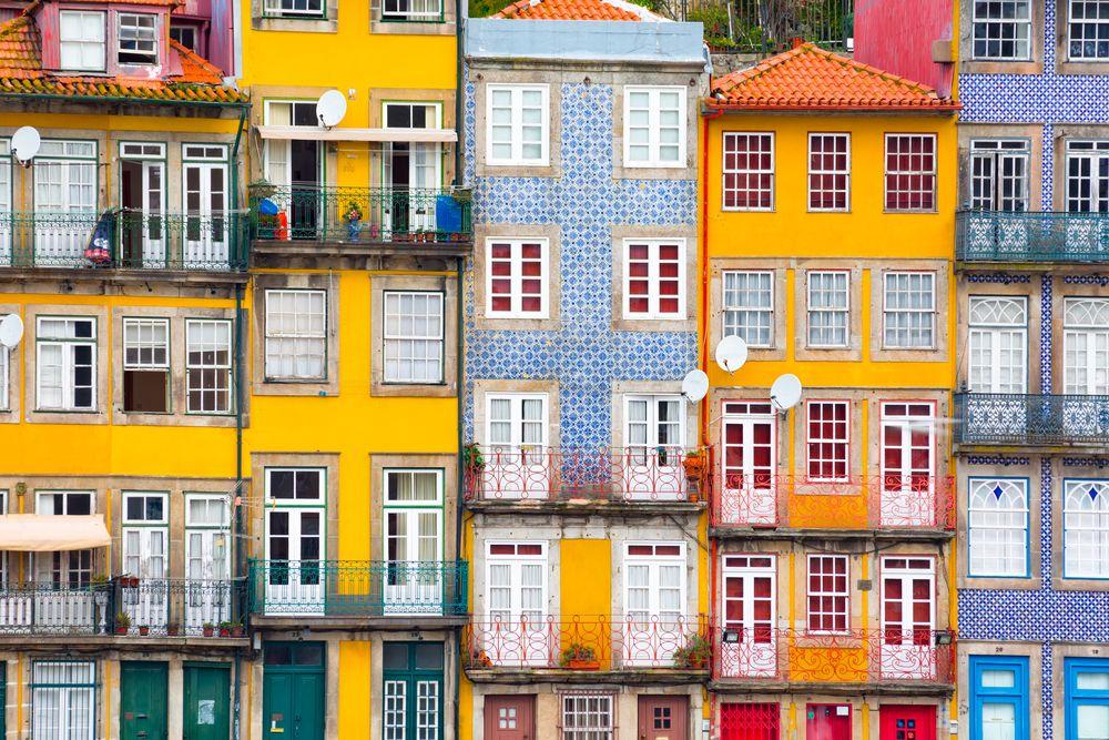 Schöne-Städte-Europa-Porto-Ribeira